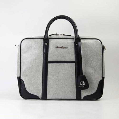 PVC ブリーフケース ビジネスバッグ ブラック 防水 豊岡製
