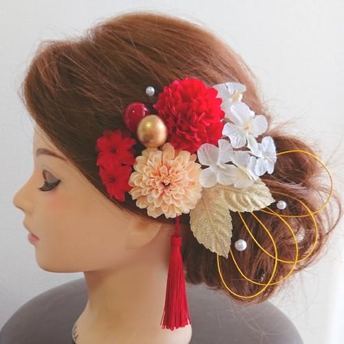 髪 成人 飾り 式
