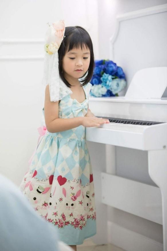 7707c01d24643 バニーガールロリータドレス(パウダーブルー) 子供服 Babylolita 通販 ...