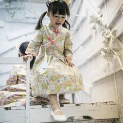 40b6baa961277 着物の生地に改善チャイナドレス 子供服 Babylolita 通販 Creema ...
