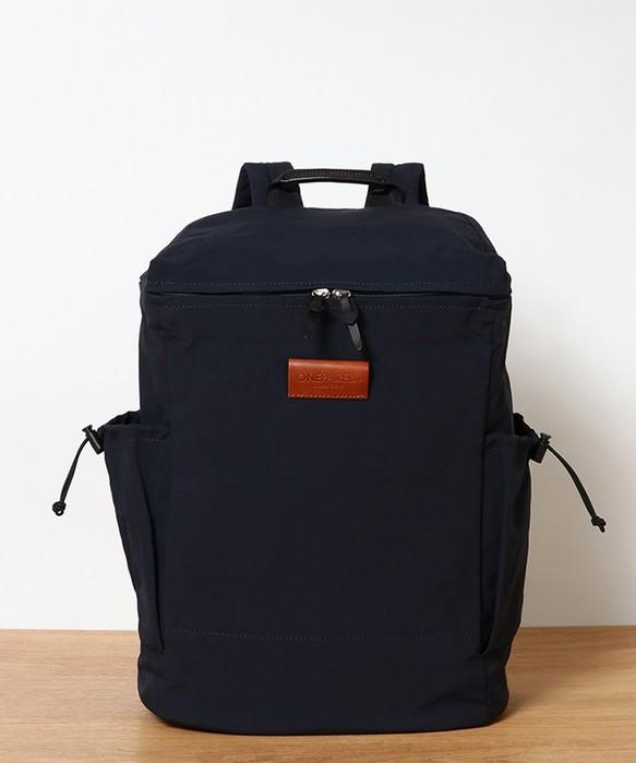 fdeace37176a ユニセックス リンクルナイロン バックパック / unisex nylon back-pack navy リュック・バックパック(メンズ) toleur