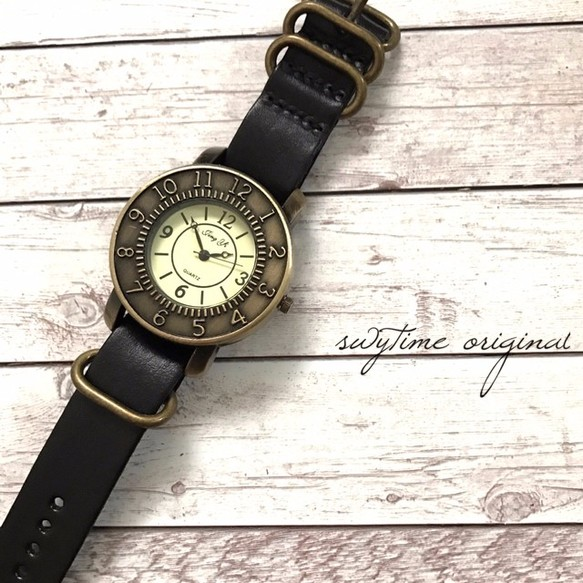 09e6d0ecf0 レザーウォッチ ブラック 腕時計 メンズ レディース シンプル ギフト 人気 プレゼント 時計 おしゃれ 安い かわいい 腕時計 Montrerie