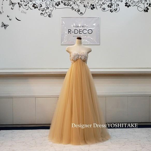 50ede0102f99a ウエディングドレス マタニティーカラードレス 披露宴 二次会 ドレス r ...