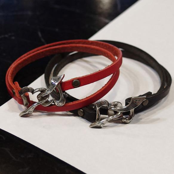 3569e495e5edca リボンがハートを結ぶペアレザーブレスレット【ペア】 ブレスレット ...