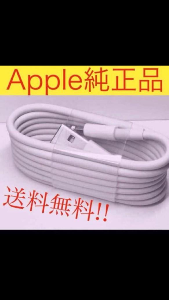Apple 純正品⭐︎ライトニングケーブル 正規品 iPhone 1メートル ...