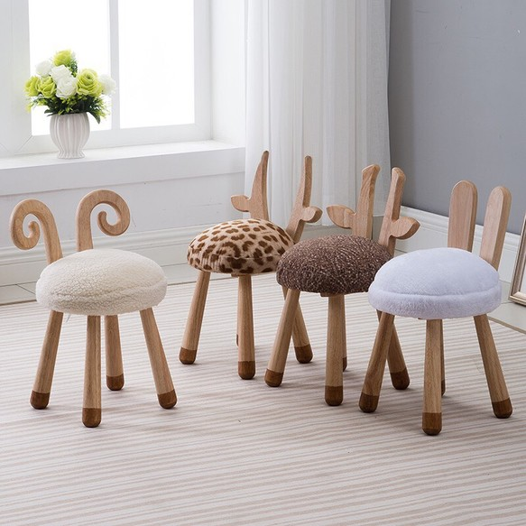 ひつじ きりん しか うさぎ アニマルチェアー 子供用 椅子 椅子(チェアー)・スツール そーりくmama 通販
