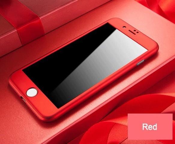 af28ffff97 全面保護 即発送 iPhone各種対応 360度フルカバーケース&専用ガラスフィルム
