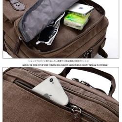 415909b1c5bb スクエア 大型キャンバスリュック/バックパック/帆布バッグ メンズ/デイバッグ カバン コットンバッグ 鞄 シンプル リュック・バックパック  woodybellys ...
