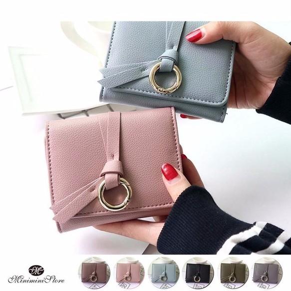 reputable site 35f7a 999df 三つ折り財布 レディース コンパクト 小さい シンプル 財布 ...