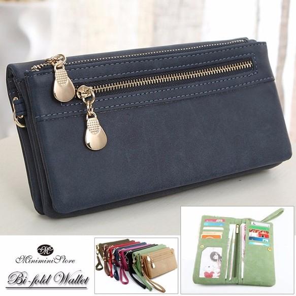 f83a69e9716e 長財布 レディース 二つ折り財布 小銭入れあり ロングウォレット 多機能 8色 長財布 miniministore