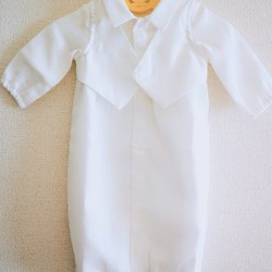 13870860657bf7 受注製作 ベビードレス boys セレモニー用 ベビー服 #3344 通販|Creema(クリーマ) ハンドメイド・手作り・クラフト作品の販売サイト