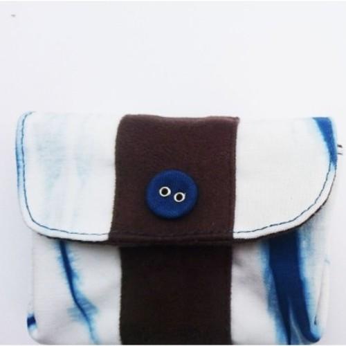 watch 617be 3a749 藍染財布零錢包
