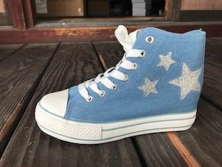 46517dc8655272 おしゃれ靴2019新作ハイカット星柄スニーカーインヒール、レディース靴、レディーススニーカー シューズ・靴 libero