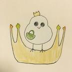 小鳥と王冠
