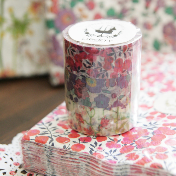 paper masking tape* LIBERTY 英国リバティ マスキングテープ3種 ...