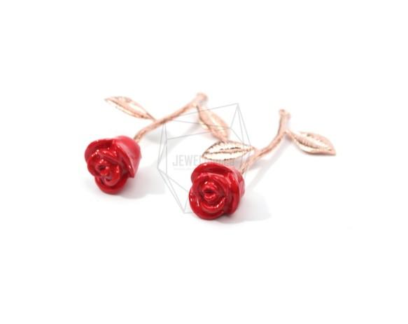 Pdt 1316 pg1rose pendantred petal rose pdt 1316 pg1rose pendantred petal rose charm mozeypictures Image collections