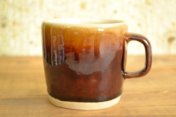 飴釉マグカップ