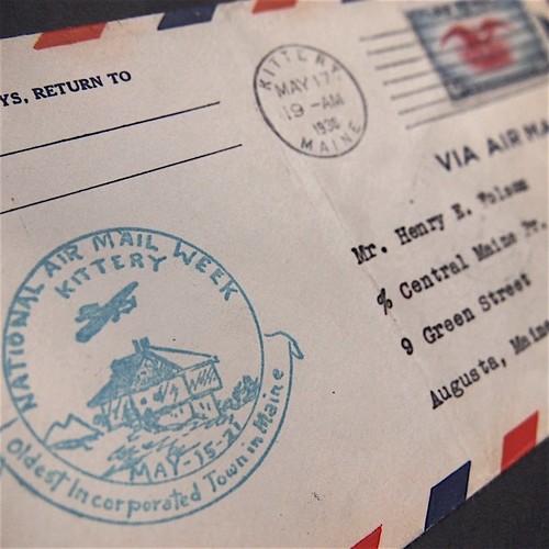 ☆1938年に米国で送られたエアメール封筒☆A7 その他素材 Olive 通販 ...