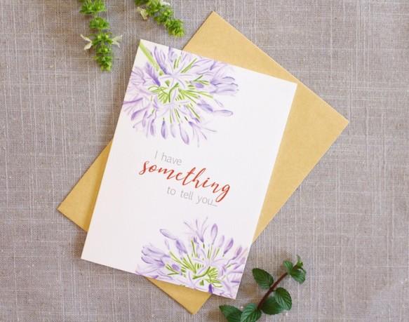 告白卡片 Love Card Flower Greeting Card カード Card