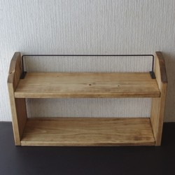 キッチン・小物・ラック・キッチン用品・タオル・ハサミ・ラップ・キッチン