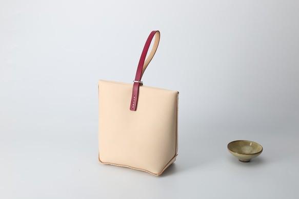 9fa279eb8a88 【切線派】本革バッグ手作りの ミニレザートートバッグ リストレット レザールバッグ総手縫い 手持ち