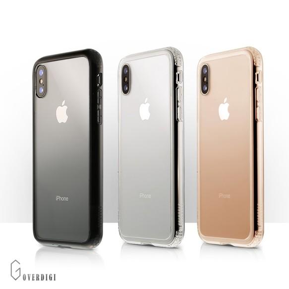 3b176485c5 iPhone Xs Max OVERDIGI V2 Honeycomb Latticeダブル素材アンチフォールディング保護ケース