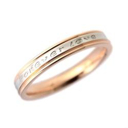 サージカルステンレスペアリング 永遠の愛 お名前記念日刻印指輪|指輪・リング|ノンアレルギー素材 Lia|ハンドメイド通販・販売のCreema