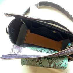 1940e744397c エナメルとパイソン革のミニバッグ ハンドバッグ CPR 通販|Creema ...