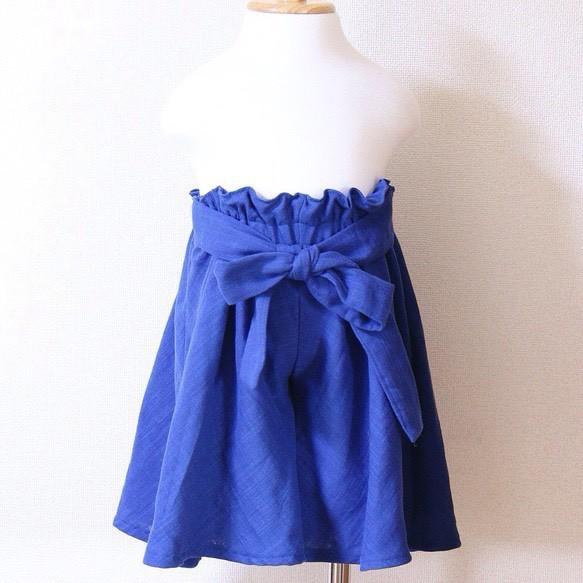 3d9d2293b338f ブルーのとろみキュロット100センチ 子供服 Areu 通販|Creema(クリーマ ...