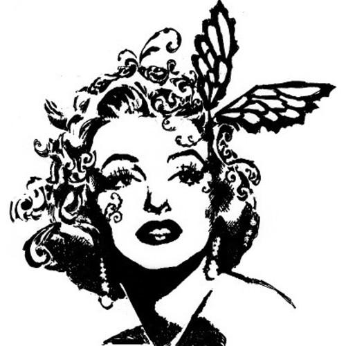 白黒】マリリン・モンロー(A4ポスター) イラスト marin 通販|Creema ...