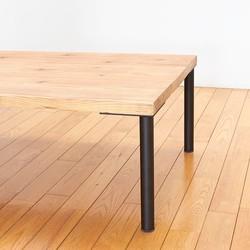 D.I.Y テーブル用鉄脚 アイアン丸パイプ ローテーブル用4本セット テーブル・机 アイ・エム・エフ ハンドメイド通販・販売のCreema