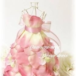 85dd697b9a411 NO70 アーティフィシャルフラワー ギフト ミニドレス(ピンク) ウェディングドレス 結婚祝い 受付 誕生日 送料無料 ドレス ケセラセラ  通販|Creema(クリーマ) ...