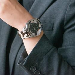 d630911392 腕時計 鯖江バングルウォッチ ビッグフェイス ホワイトモザイク 腕時計(メンズ) sanyou 通販|Creema(クリーマ)  ハンドメイド・手作り・クラフト作品の販売サイト