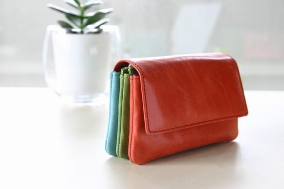best cheap 75de0 cd9bc スペイン製ミニ財布 世界的一流ブランドを手掛ける職人が作る本革財布(赤・緑・青)