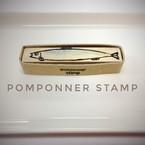 pomponner stamp