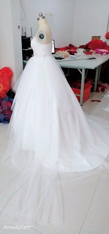 ef140fd8e34fd ボリューミードレス ウエディングドレス 結婚式 お色直し お花嫁 色もサイズもオーダー可能