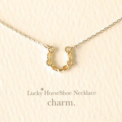 Lucky horseshoe necklace lucky horseshoe necklace mozeypictures Gallery