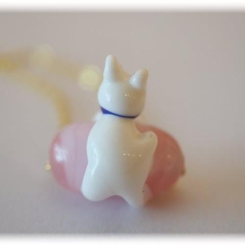 とんぼ玉 猫