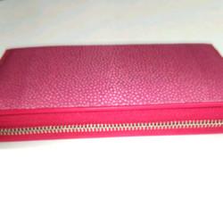 d69d0526fd63 高品質 スティングレイ ピンク ラウンドファスナー 長財布 長財布 タロ 通販 Creema(クリーマ) ハンドメイド・手作り・クラフト作品の販売サイト