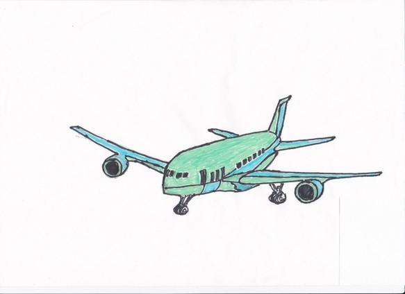 手描きイラスト 航空機 イラスト Kill 通販creemaクリーマ