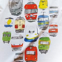 71bbd86503e1a 電車のロンパース(白) ベビー服 mommki 通販 Creema(クリーマ) ハンドメイド・手作り・クラフト作品の販売サイト