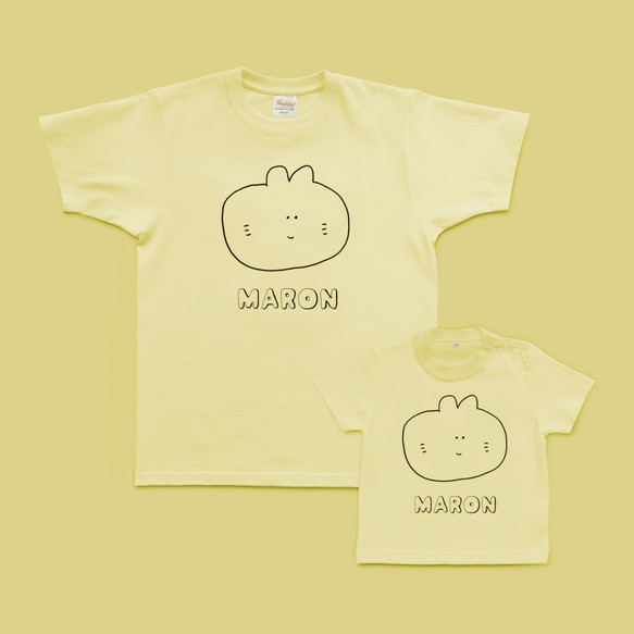 b3fae510f2674 お名前入れます_シロ猫ちゃんのTシャツ 子供服 mommki 通販 Creema ...