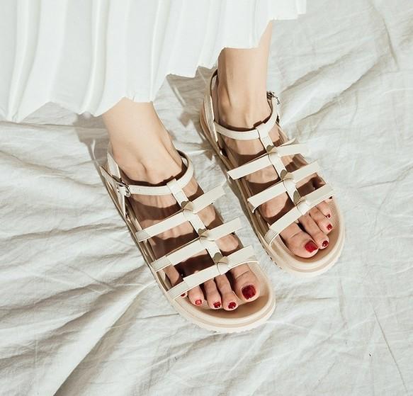 93559e3eb2302e ☆19春夏新作☆ シンプルなデザイン サンダル レディース シューズ・靴 ...