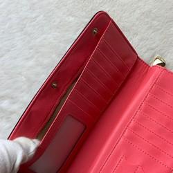 1c5b6244606d 新品 可愛い シンプル ピンク ブラック 長財布 レディース 長財布 ...