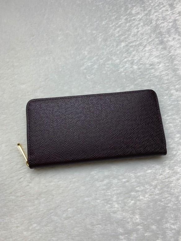 e394692a35b7 新品 高級 型押し 長財布 ラウンドファスナー 茶色 メンズ レディース 長財布 Zeroichi