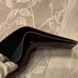 39e2c9108472 新品 シンプル 二つ折り 財布 茶色 メンズ 財布・二つ折り財布 Zeroichi ...