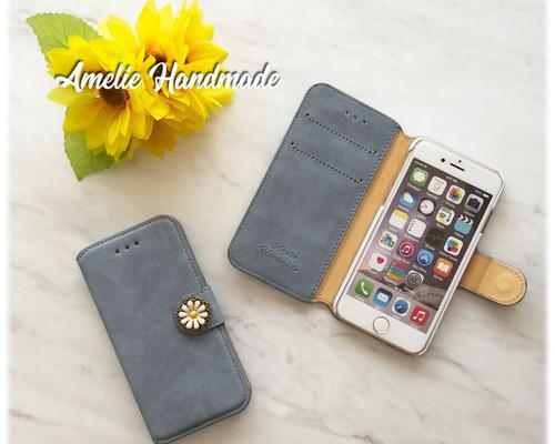3f412a9d96 スタースタッズ ブラック 手帳型スマホケース iphone/xperia/galaxy ...