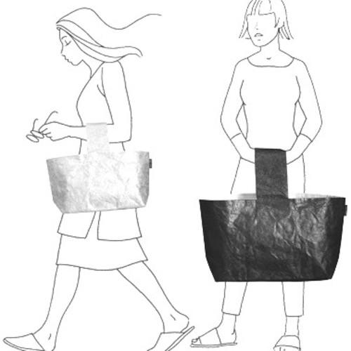 繰り返し洗えて衛生的《頑丈なカナダ製大容量バッグ》海外デザイナーズ ...
