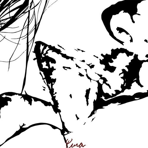 女の欲 ポストカード Naked 1 5 シンプル モノクロイラスト 切り絵風 イラスト Yuuna 通販 Creema クリーマ ハンドメイド 手作り クラフト作品の販売サイト