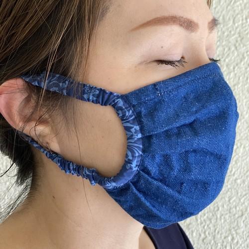 デニム 生地 マスク